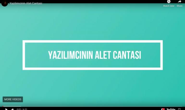 Yazılımcının Alet Çantası – Yazar Ali Iybar