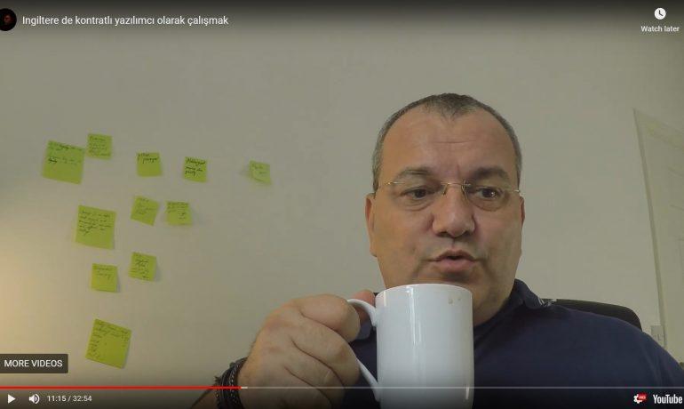 Ingiltere'de yazılımcı olarak calışmak – VIDEO Ali Iybar